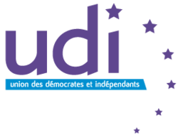 The logo of the new center-right party in France